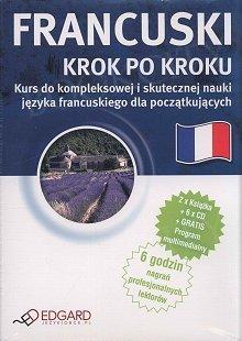 Francuski Krok po kroku 2 x książka + 5 x CD Audio + MP3 z programem multimedialnym