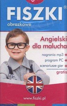 Fiszki Obrazkowe Angielski dla malucha Fiszki + program + mp3 online