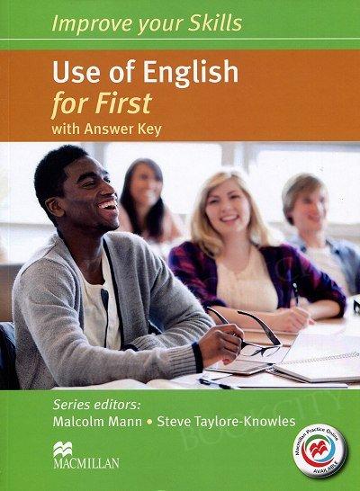 Improve your Skills for First. Use of English Książka ucznia (z kluczem) + kod online