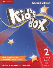 Kid's Box 2 (second edition) Activity Book with Online Resources