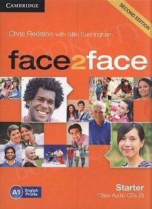 face2face 2nd Edition Starter Class Audio CDs (3)