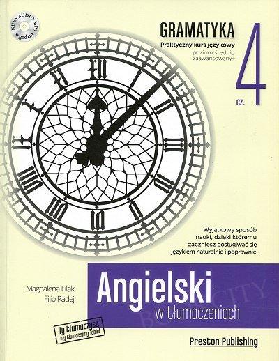 Angielski w tłumaczeniach. Gramatyka 4 Książka + CD mp3