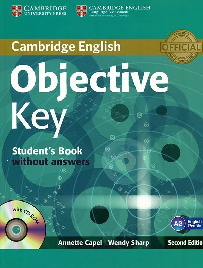 Objective Key (2nd Edition) Student's Book without Answers with CD-ROM