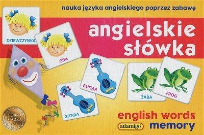 Angielskie słówka Memory