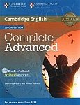 Complete Advanced 2ed Student's Book without Answers with CD-ROM