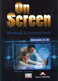 On Screen Intermediate B1+/B2 Zeszyt ćwiczeń (Workbook & Grammar Book)