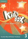 Kid's Box 3 (Updated 2nd Ed) Class Audio CDs (3)