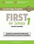 Cambridge English First for Schools 1 FCE (2015) Student's Book without Answers