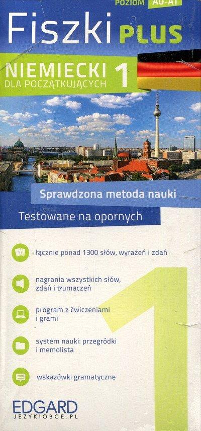 Niemiecki Fiszki PLUS dla początkujących 1 Fiszki + program + mp3 online