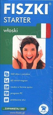 Fiszki Włoskie Starter Fiszki + program + mp3 online