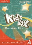 Kid's Box 4 (Updated 2nd Ed) Audio CD's (3)