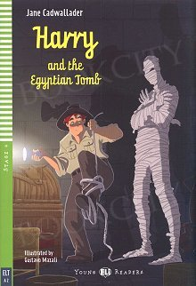 Harry and the Egyptian Tomb Book + CD