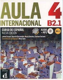 Aula Internacional Nueva Edición 4 Podręcznik + ćwiczenia + CD mp3