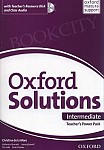 Oxford Solutions Intermediate Teacher's Power Pack