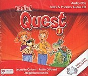 English Quest 1 (reforma 2017) Class CD