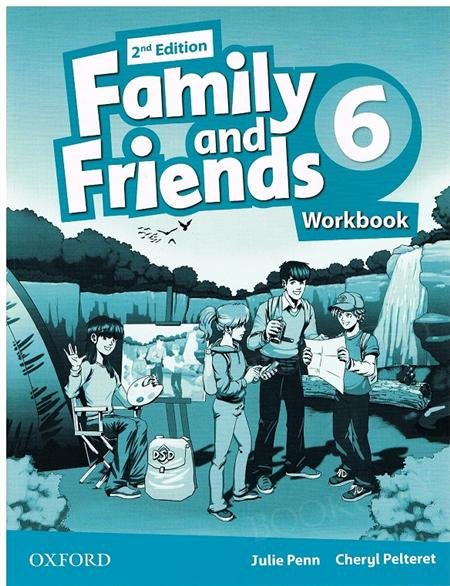 Family and Friends 6 (2nd edition) ćwiczenia