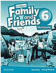 Family and Friends 6 (2nd edition) Workbook