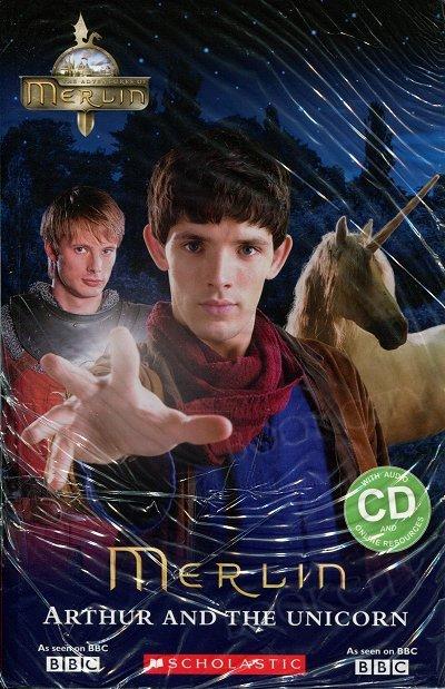 Merlin: Arthur and the Unicorn Książka+CD