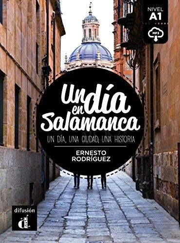 Un dia en Salamanca Książka + audio mp3