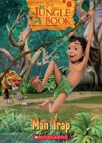 The Jungle Book: Man Trap (poziom 1) Reader + Audio CD