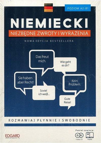 Niemiecki Niezbędne zwroty i wyrażenia Książka + CD