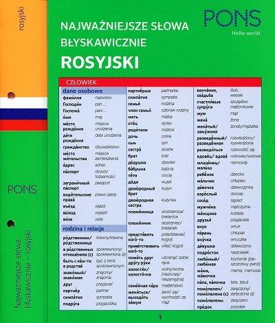 Najważniejsze słowa błyskawicznie - rosyjski