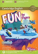 Fun for Flyers (4th edition) Student's Book + Online Activities + Audio + Home Fun Booklet
