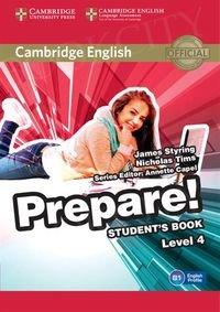 Prepare! 4 podręcznik