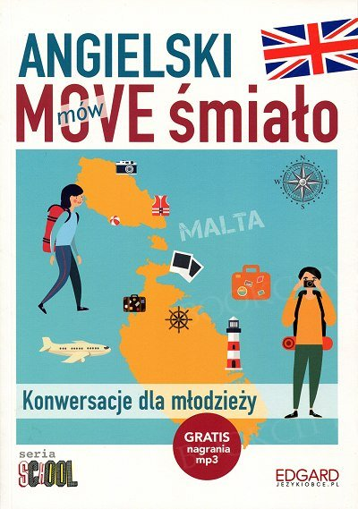 Angielski MOVE śmiało Konwersacje dla młodzieży Książka+nagrania mp3