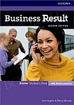 Business Result 2nd edition Starter Student's Book with Online Practice