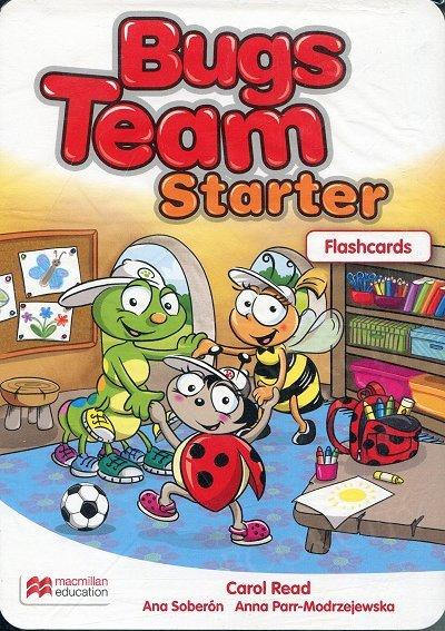 Bugs Team Starter Flashcards