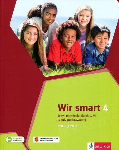 Wir Smart 4 - klasa 7 Podręcznik z nagraniami