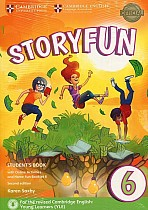 Storyfun 6 Flyers Student's Book with Online Activities and Home Fun Booklet