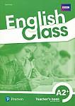 English Class A2+ książka nauczyciela