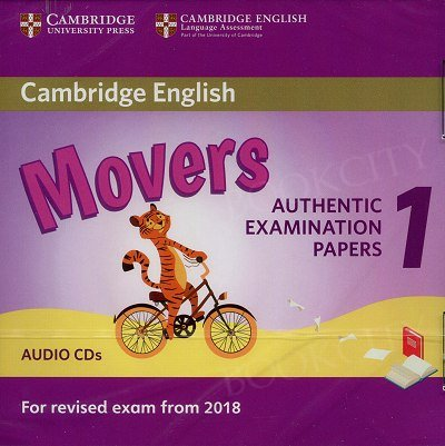 Cambridge English Movers 1 (2017) Audio CDs