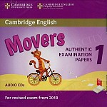 Cambridge English Movers 1 (2017) Audio CDs