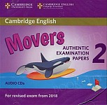 Cambridge English Movers 2 (2018) Audio CD