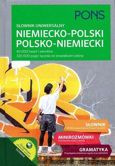 PONS Słownik uniwersalny niemiecko-polski polsko-niemiecki