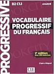 Vocabulaire Progressif du Français Avancé 3e edition Książka + CD