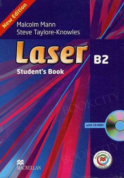 Laser B2 (New Edition) Książka ucznia + CD-Rom + Macmillan Practice Online