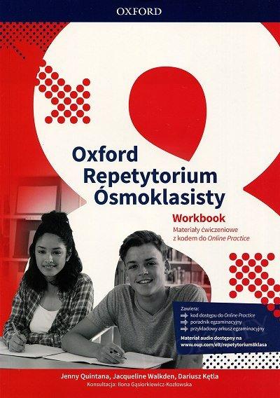 Repetytorium ósmoklasisty Oxford Workbook with Online Practice