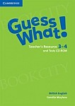 Guess What! 3 3-4 Teacher's Resource and Tests CD (CD-ROM)