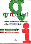 Qui Italia.it livello intermedio B1  Podręcznik + CD