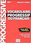 Vocabulaire progressif du Francais Niveau Débutant Complet A1.1 podręcznik