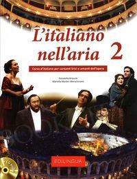 L'italiano nell'aria 2 Książka + CD