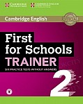 First for Schools Trainer 2 (2018) Six Practice Tests without Answers