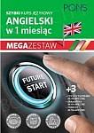 Szybki kurs Angielski w 1 miesiąc Mega Zestaw: Kurs + tablice: czasy i czasowniki, gramatyka, podróże