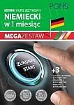 Szybki kurs Niemiecki w 1 miesiąc Mega Zestaw: Kurs + tablice: czasy i czasowniki, gramatyka, podróże