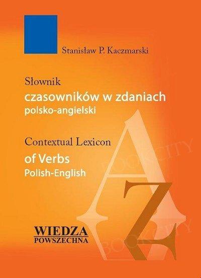 Słownik czasowników w zdaniach polsko-angielskich Książka