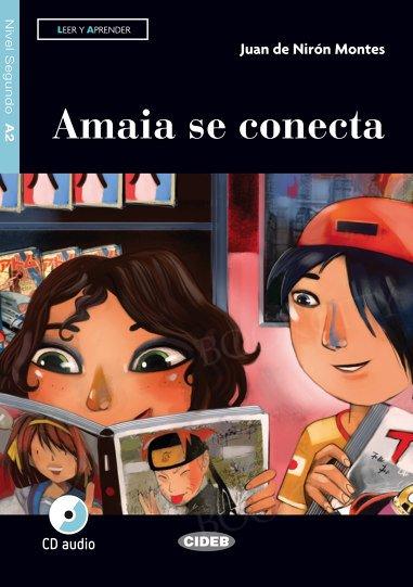 Amaia se conecta Książka+CD